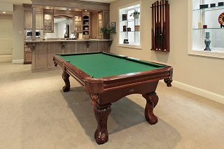 tupelo pool table size content